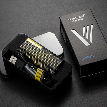 KIT - Vapros iBox Mini 30W Sub Ohm - 2000mAh VV/VW ( Yellow )