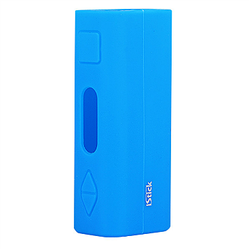 VAPING ACCESSORIES - Eleaf iStick 20W / 30W Protective Silicone Sleeve ( Blue )