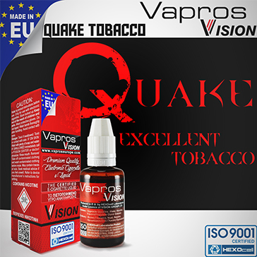 30ml QUAKE 0mg eLiquid (Without Nicotine) - eLiquid by Vapros/Vision
