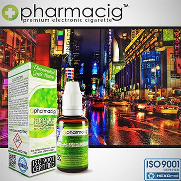 30ml NEW YORK CITY 0mg eLiquid (Without Nicotine) - eLiquid by Pharmacig