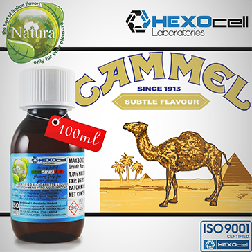 100ml CAMMEL 18mg eLiquid (With Nicotine, Strong) - Natura eLiquid by HEXOcell