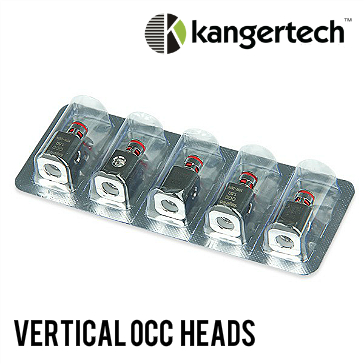 ATOMIZER - 5x KANGER Vertical OCC Atomizer Heads V2 (0.5Ω)