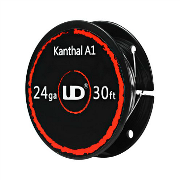 VAPING ACCESSORIES - UD Kanthal A1 24 Gauge Wire ( 30ft / 9.15m )
