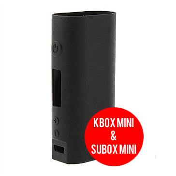 VAPING ACCESSORIES - Kanger Kbox Mini & Subox Mini Protective Silicone Sleeve ( Black )