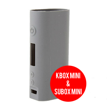 VAPING ACCESSORIES - Kanger Kbox Mini & Subox Mini Protective Silicone Sleeve ( Gray )