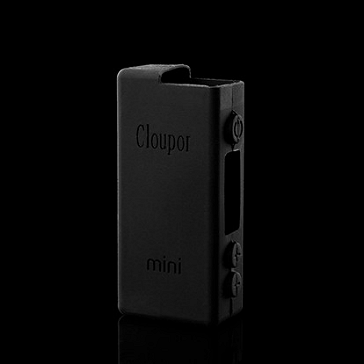 VAPING ACCESSORIES - Cloupor Mini Protective Silicone Sleeve ( Black )