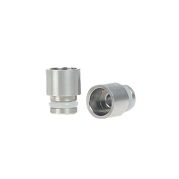 VAPING ACCESSORIES - Short 510 Wide Bore Drip Tip ( Stainless Steel )