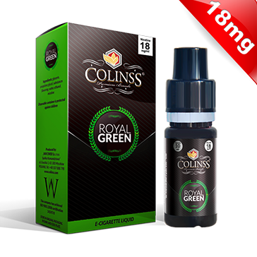10ml ROYAL GREEN 18mg eLiquid (Tobacco & Mint) - eLiquid by Colins's