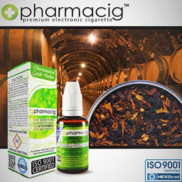 30ml PURE BLACK TOBACCO 9mg eLiquid (With Nicotine, Medium) - eLiquid by Pharmacig