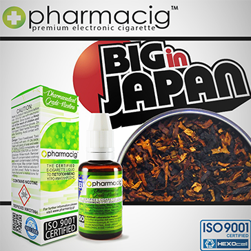 30ml BIG IN JAPAN 9mg eLiquid (With Nicotine, Medium) - eLiquid by Pharmacig