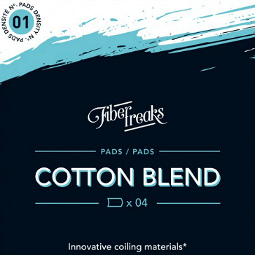 VAPING ACCESSORIES - Fiber Freaks Cotton Blend No: 1 Density Wick
