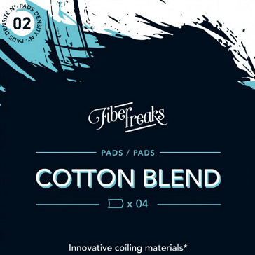 VAPING ACCESSORIES - Fiber Freaks Cotton Blend No: 2 Density Wick