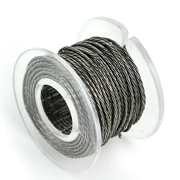 VAPING ACCESSORIES - 30 Gauge Twisted Kanthal A1 Wire ( 3.3ft / 1m )