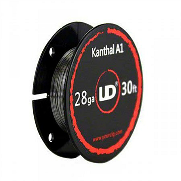 VAPING ACCESSORIES - UD Kanthal A1 28 Gauge Wire ( 30ft / 9.15m )