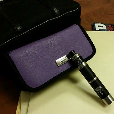 VAPING ACCESSORIES - Pandoras Enigma Handmade Leather Carry Case ( Allium )