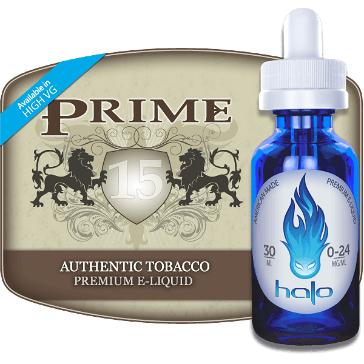 30ml PRIME15 12mg eLiquid (With Nicotine, Medium) - eLiquid by Halo