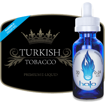 30ml TURKISH 6mg eLiquid (With Nicotine, Low) - eLiquid by Halo