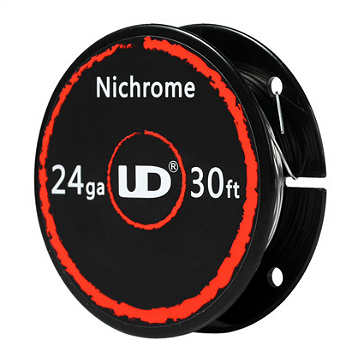 VAPING ACCESSORIES - UD Nichrome 24 Gauge Wire ( 30ft / 9.15m )