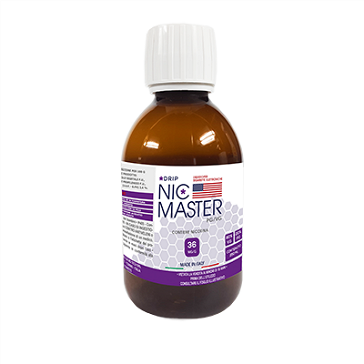 D.I.Y. - 250ml NIC MASTER Drip Series eLiquid Base (20% PG, 80% VG, 36mg/ml Nicotine)