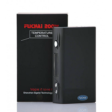 KIT - Sigelei FUCHAI 200W TC Box Mod ( Black )