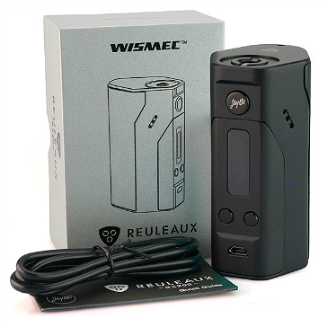 KIT - Wismec REULEAUX RX200 200W TC Mod ( Black )