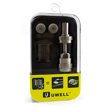 ATOMIZER - UWELL Crown TC Capable Sub Ohm Tank ( Stainless )