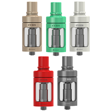 ATOMIZER - JOYETECH CUBIS Cupped TC Clearomizer ( Cyan )