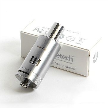 ATOMIZER - JOYETECH eGo ONE 2.5ml TC Capable Sub Ohm Atomizer ( Silver )