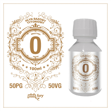 D.I.Y. - 100ml PINK FURY Tobacco Base (50% PG, 50% VG, 0mg/ml Nicotine)