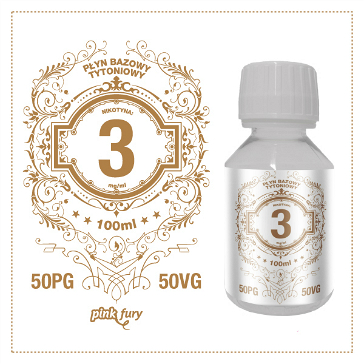 D.I.Y. - 100ml PINK FURY Tobacco Base (50% PG, 50% VG, 3mg/ml Nicotine)