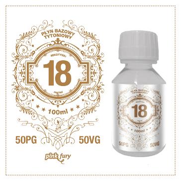 D.I.Y. - 100ml PINK FURY Tobacco Base (50% PG, 50% VG, 18mg/ml Nicotine)