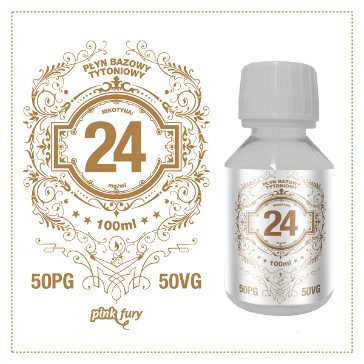 D.I.Y. - 100ml PINK FURY Tobacco Base (50% PG, 50% VG, 24mg/ml Nicotine)