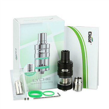 ATOMIZER - Eleaf Lyche Cupped Atomizer with RBA Head ( Black )
