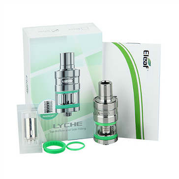 ATOMIZER - Eleaf Lyche Cupped Atomizer with RBA Head ( Stainless )