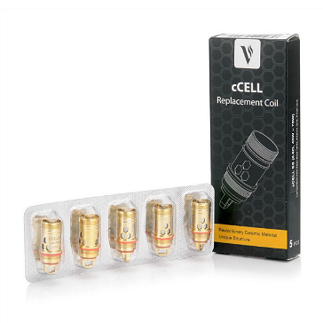 ATOMIZER - 5x VAPORESSO cCell Atomizer Heads (0.6Ω)