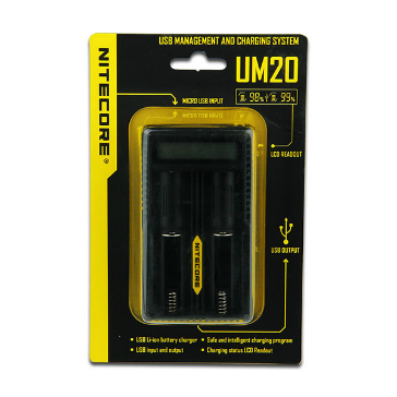 CHARGER - Nitecore UM20 External Battery Charger