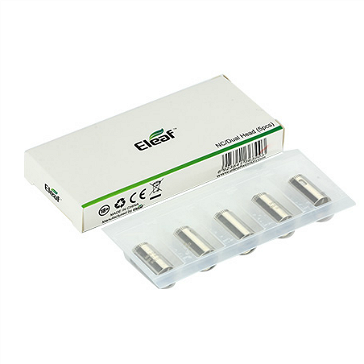 ATOMIZER - 5x Eleaf Dual SS316L Heads ( 0.25 ohms )