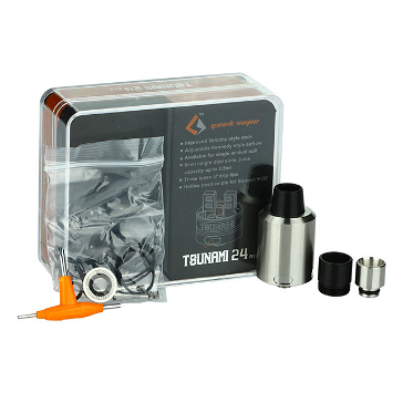 ATOMIZER - GEEK VAPE Tsunami 24mm RDA ( Stainless )