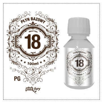 D.I.Y. - 100ml PINK FURY Neutral Base (100% PG, 18mg/ml Nicotine)