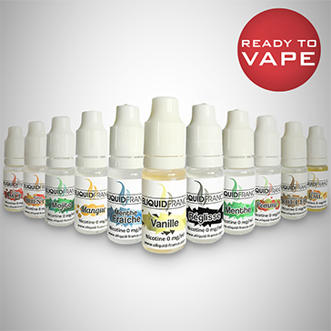 10ml AMERICAN BLEND 12mg eLiquid (With Nicotine, Medium) - eLiquid by Eliquid France