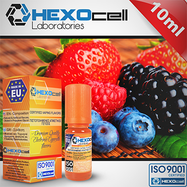 D.I.Y. - 10ml FOREST FRUITS eLiquid Flavor by HEXOcell