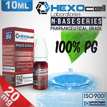 D.I.Y. - 10ml HEXOcell eLiquid Base (100% PG, 20mg/ml Nicotine)