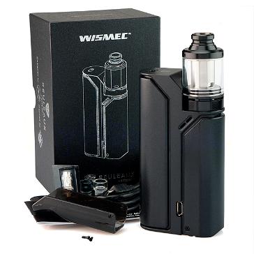 KIT - Wismec REULEAUX RX75 75W TC Mod ( Black )