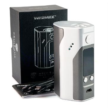 KIT - Wismec REULEAUX RX200S 200W TC Mod ( Grey & Silver )