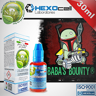 30ml BABA'S BOUNTY 6mg eLiquid (With Nicotine, Low) - Natura eLiquid by HEXOcell