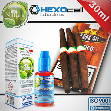 30ml TUSCAN 3mg eLiquid (With Nicotine, Very Low) - Natura eLiquid by HEXOcell