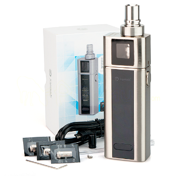 KIT - Joyetech CUBOID Mini 80W TC Box Mod Full Kit ( Silver )
