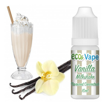 D.I.Y. - 10ml VANILLA MILKSHAKE eLiquid Flavor by Eco Vape