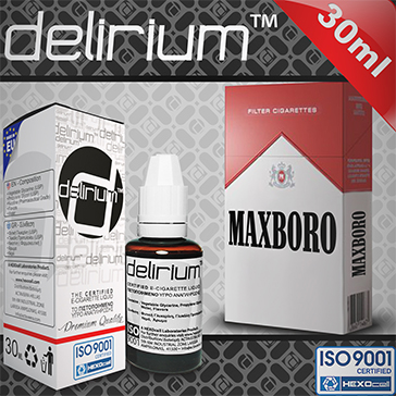 30ml MAXXXBORO 9mg eLiquid (With Nicotine, Medium) - eLiquid by delirium