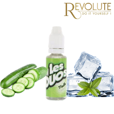 D.I.Y. - 20ml Les Duos Revolute CUCUMBER & MINT eLiquid Flavor by Nicoflash